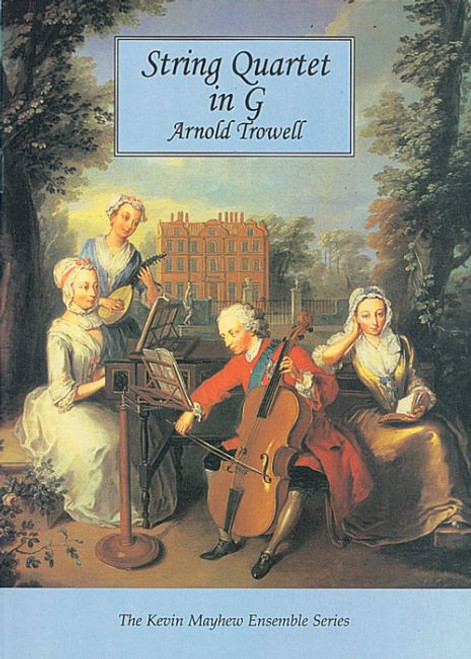 Trowell, Andy: String Quartet in G (Study Score)