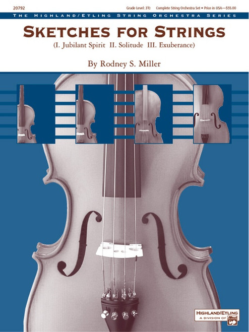 Miller, Rodney: Sketches for Strings for String Orchestra