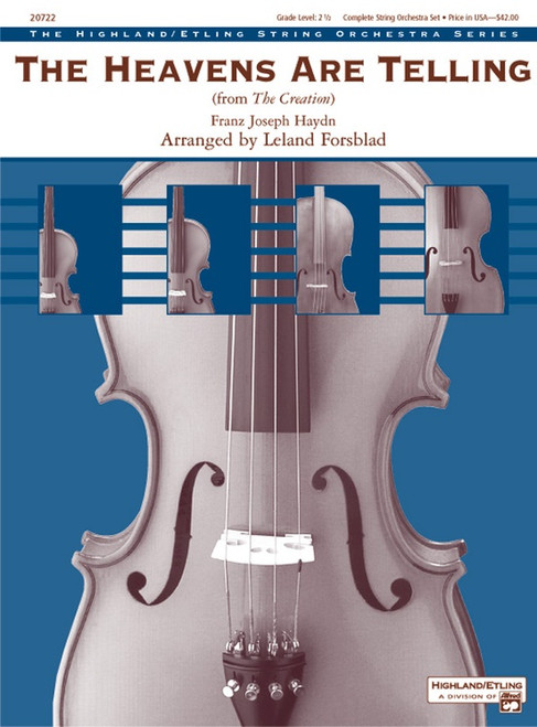 Haydn, Franz Joseph: The Heavens are Telling for String Orchestra