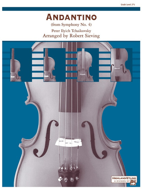 Tchaikovsky, Peter Ilyich: Andantino for String Orchestra
