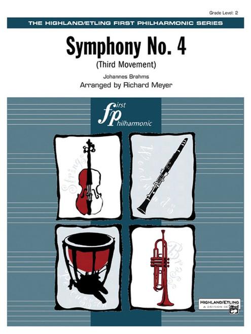 Brahms, Johannes: Symphony No. 4 (Third Movement) for Symphony Orchestra