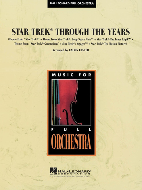 Star Trek Through the Years for Full Orchestra