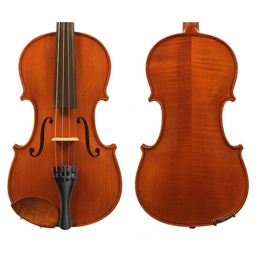 Gliga St. Romani II 4/4 Violin Outfit (includes Bow, Case & Pro Set-Up) Made in Europe