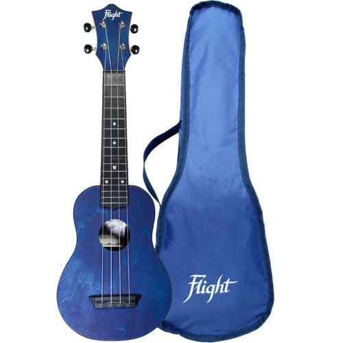 Flight Ukulele Dark Blue