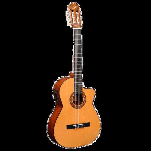 Admira Juanita EC Guitar - Classical Guitar with Cutaway and Pickup