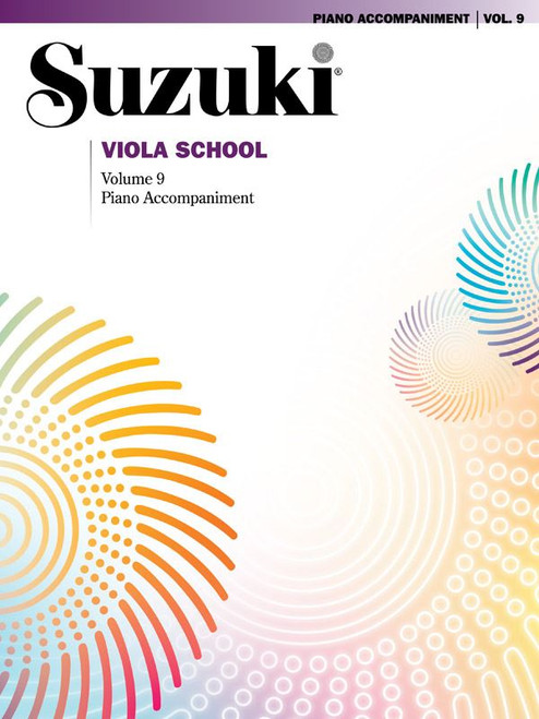 Suzuki Viola School Volume 9 Piano Accompaniment