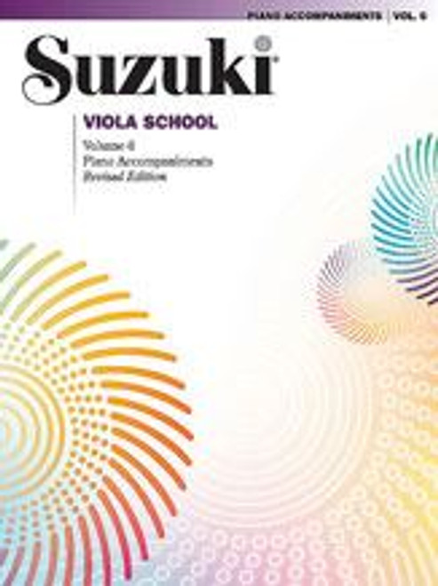 Suzuki Viola School Volume 6 Piano Accompaniment