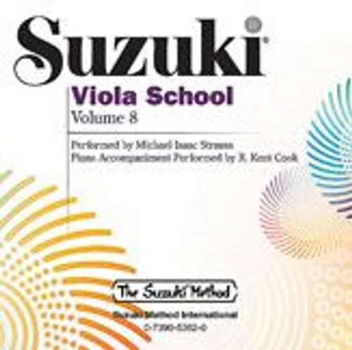 Suzuki Viola School Volume 8 CD Only
