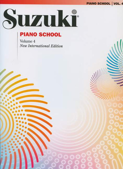 Suzuki Piano School Volume 4 Book only
