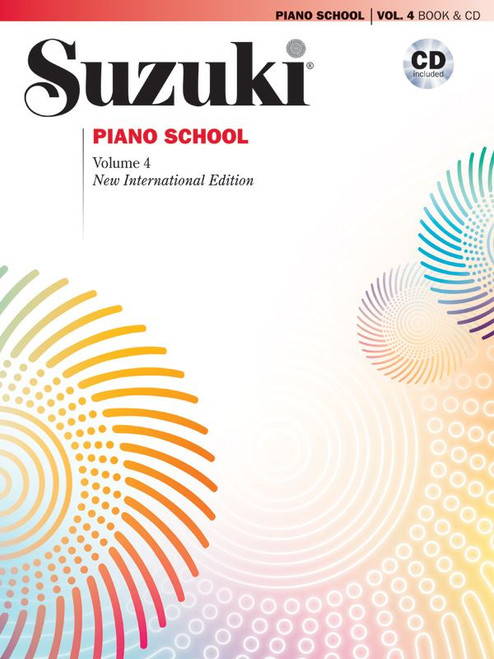 Suzuki Piano School Volume 4 BK/CD