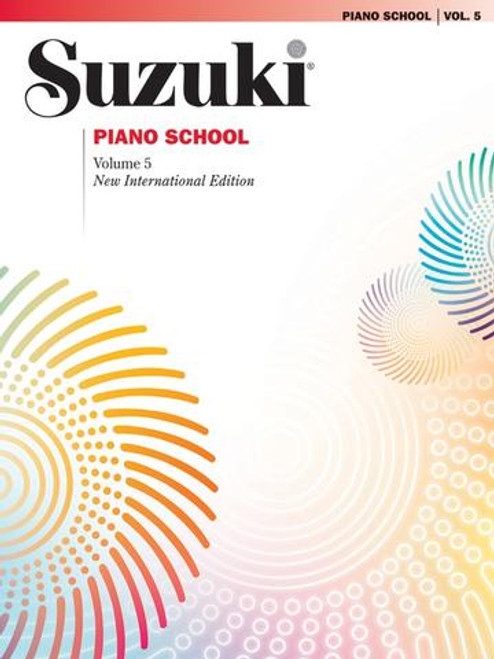 Suzuki Piano School Volume 5 Book only