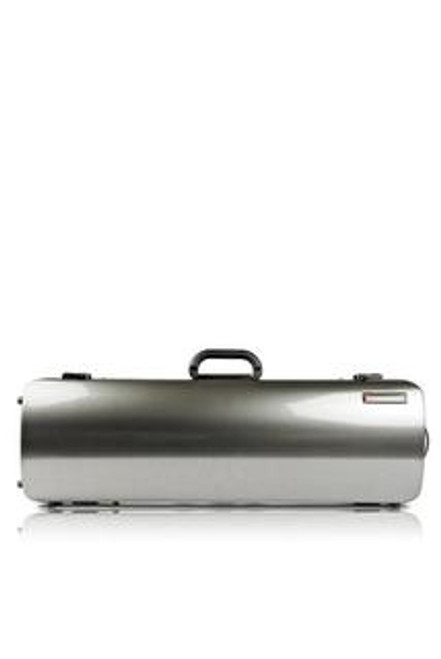 Violin Case BAM HIGHTECH Oblong - Silver Carbon