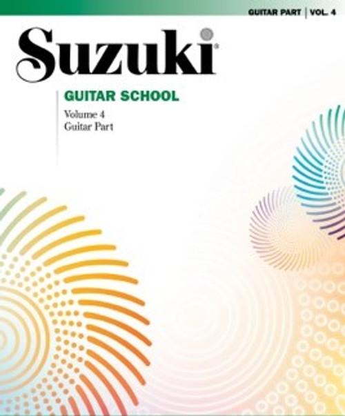 Suzuki Guitar School Volume 4