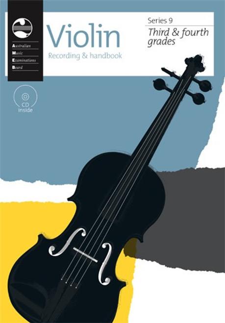 AMEB Violin Series 9 Grade 3 to 4 Recording & Handbook