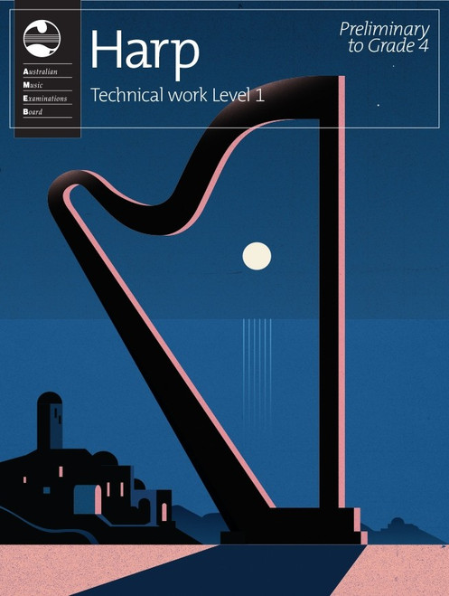 AMEB Harp Series 1 Technical Work Level 1
