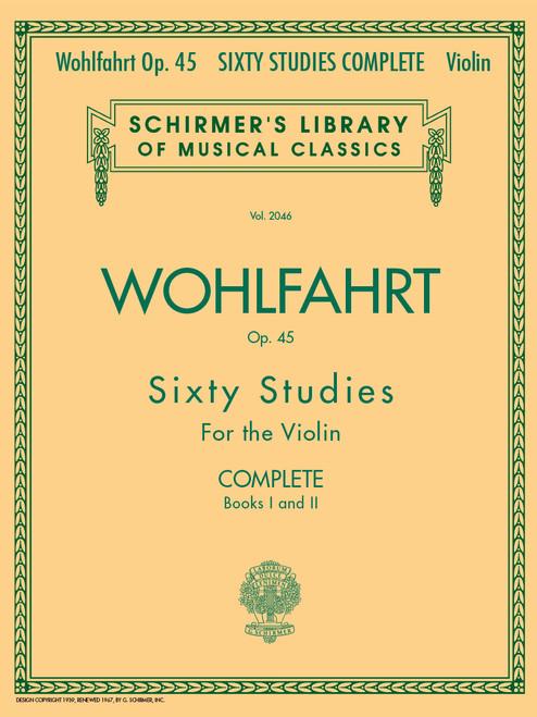 Wohlfahrt, Franz: Sixty Studies Op 45 Complete Book 1 and 2