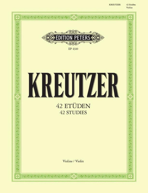Kreutzer, Rodolphe  - 42 Etudes or Caprices for Violin , Edited by Walther Davisson