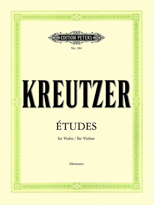Kreutzer, Rodolphe  - 42 Studies or Caprices for Violin, Edited by Hermann