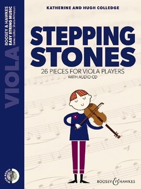 Colledge, Hugh & Katherine: Stepping Stones for Violin with CD (Sheila Nelson)