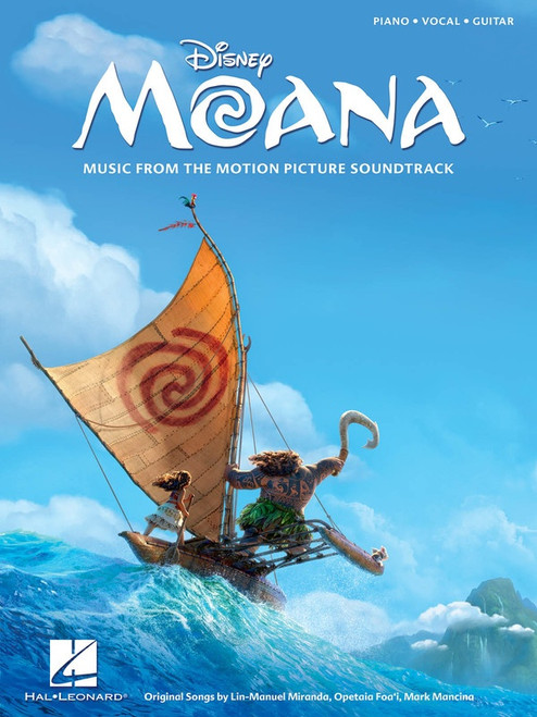 Moana (from the Motion Picture Soundtrack) for Piano/Vocal/Guitar