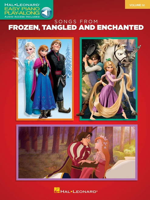 Songs from Frozen, Tangled and Enchanted for Easy Piano