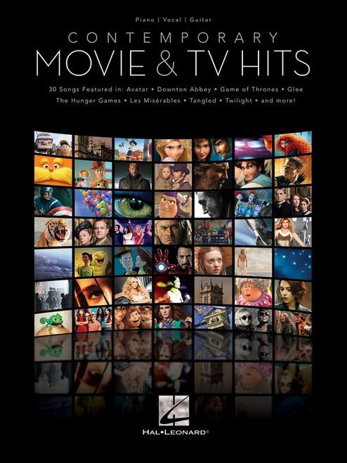 Contemporary Movie & TV Hits for Piano/Vocal/Guitar