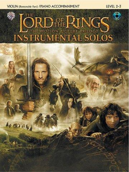 Lord of The Rings BK/CD for Violin