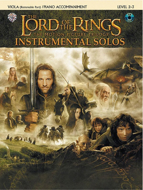 Lord of The Rings BK/CD for Viola