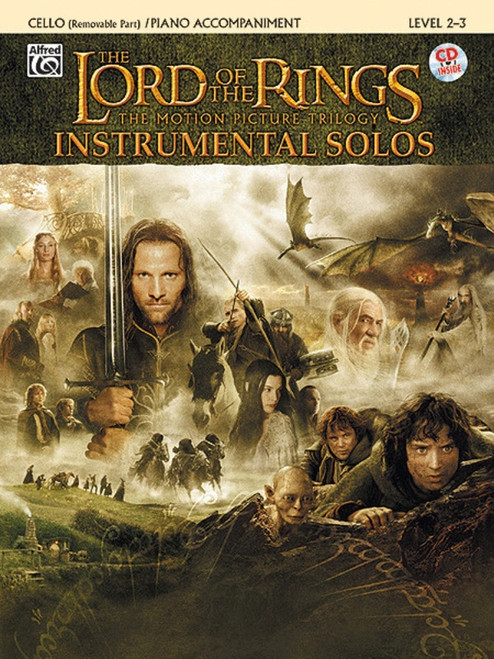 Lord of The Rings BK/CD for Cello