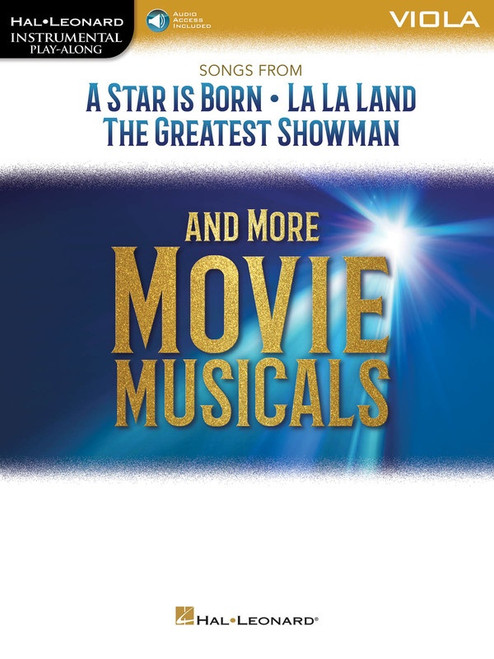 Songs from A Star is Born, La La Land, Greatest Showman and More for Viola