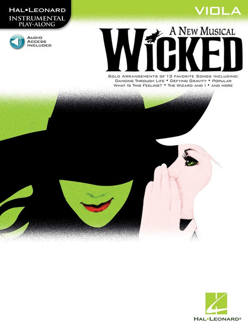 Wicked: A New Musical for Viola Play-Along