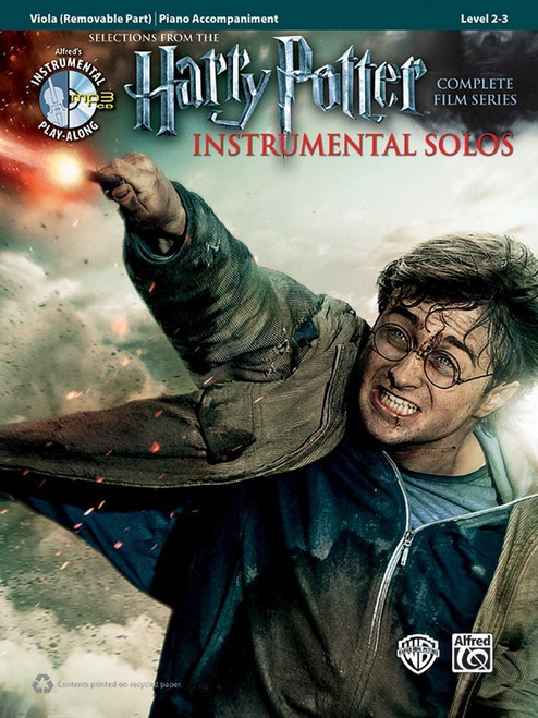 Harry Potter Complete Film Series for Viola Solo