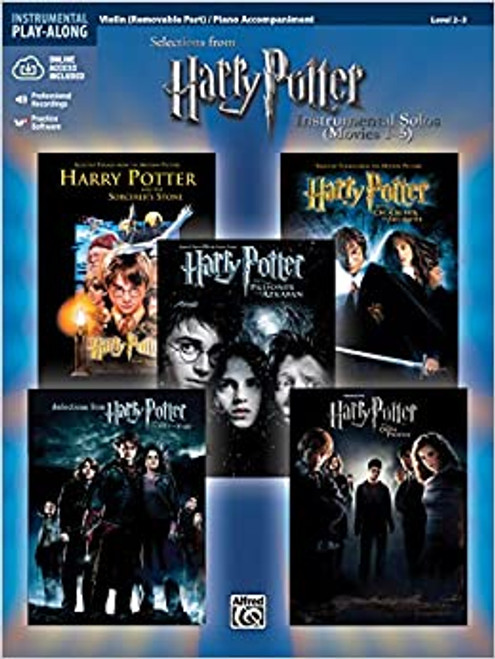 Harry Potter Movies 1-5 for Violin Solo
