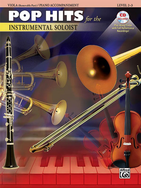 Pop Hits for the Instrumental Soloist - Viola