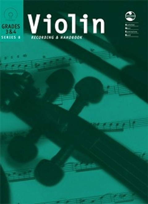 AMEB Violin Series 8 Grades 3 & 4 Recording and Handbook