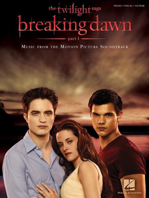 The Twilight Saga: Breaking Dawn Part 1 for Piano/Vocal/Guitar