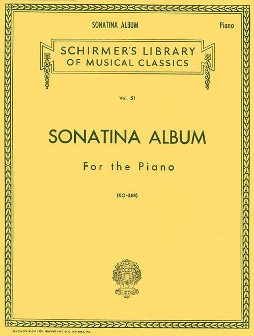 Sonatina Album (Schirmer Ed)