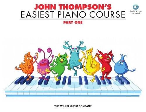 John Thompson's Easiest Piano Course Part One Book/Audio Access