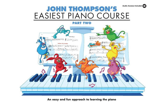 John Thompson's Easiest Piano Course Part Two Book/Audio Access