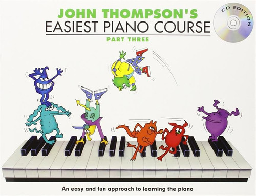 John Thompson's Easiest Piano Course Part Three Book/Audio Access