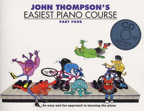 John Thompson's Easiest Piano Course Part Four Book/Audio Access