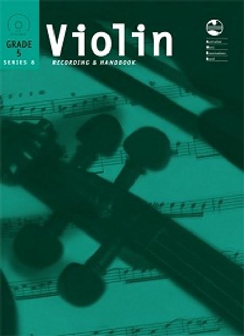 AMEB Violin Series 8 Grade 5 Recording & Handbook