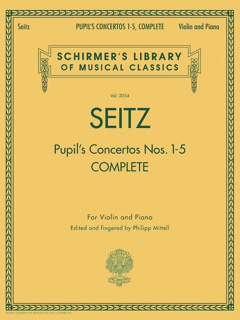 Seitz, Friedrich: Pupil's Concertos Nos. 1-5 Complete for Violin and Piano