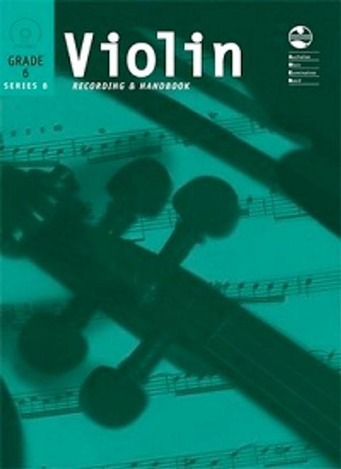 AMEB Violin Series 8 Grade 6 Recording & Handbook