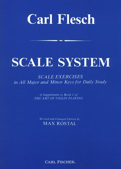 Fischer, Carl: Scale System for Violin