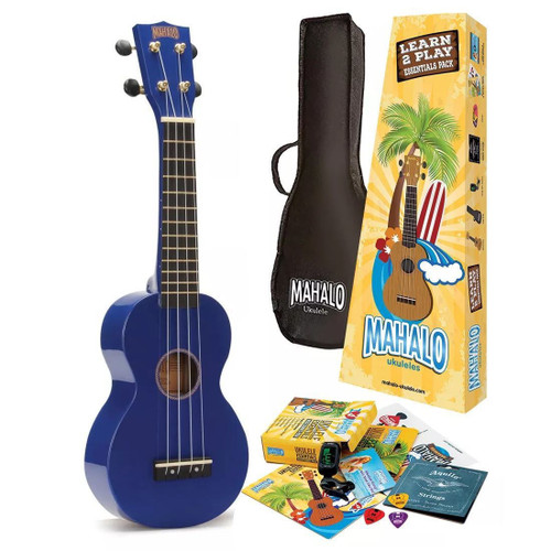 Mahalo ukulele including Learn to play pack
