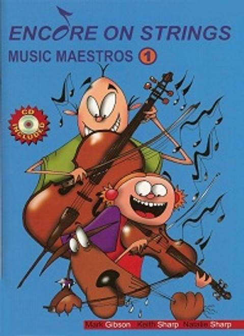 Encore On Strings Music Maestros 1 for Violin