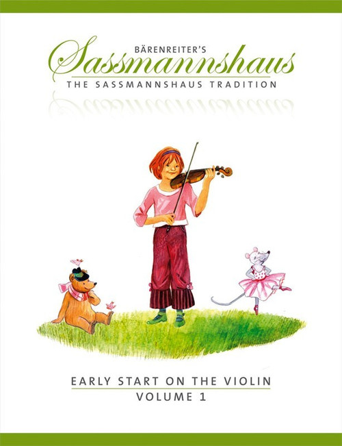 Sassmannshaus Early Start on the Violin Volume 1