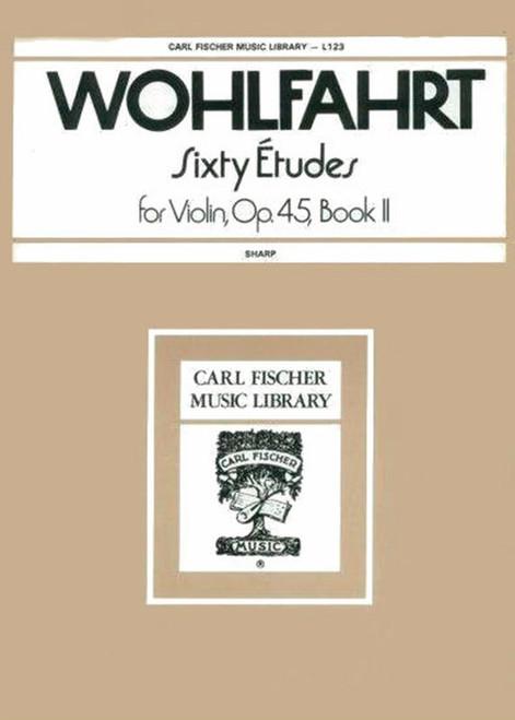 WohlFahrt, Franz: Sixty Etudes, Op. 45 Book 2