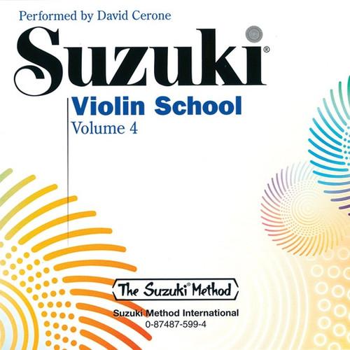 Suzuki Violin School Volume 4 CD Only